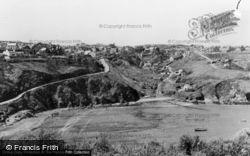 Fishguard, General View c.1955