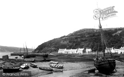 Fishguard, Harbour 1890