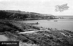 Fishguard, Harbour And Marine Walk c.1950