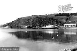 Fishguard, Harbour c.1955