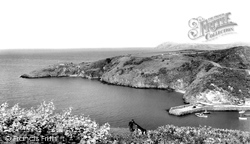 Fishguard, Old Roman Fort c.1960