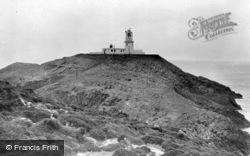 Strumble Head Lighthouse c.1960, Fishguard