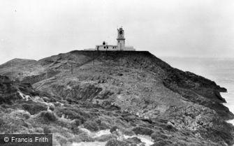 Fishguard, Strumble Head Lighthouse c1960