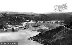 Fishguard, The Harbour 1890