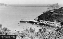 Fishguard, The Harbour c.1960
