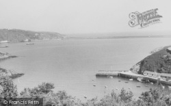 Fishguard, The Harbour c.1960