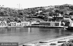 Fishguard, The Lower Harbour c.1960