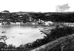 Fishguard, The Lower Town c.1955
