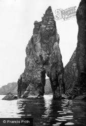 Fishguard, The Needle Rock c.1950