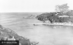 Fishguard, The Old Fort c.1955