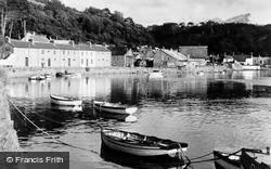Fishguard, The Quay, Old Harbour c.1950