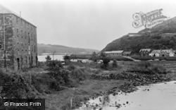 Fishguard, The River At Lower Town c.1955