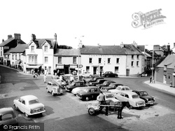 Fishguard, The Square 1959