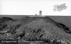 The Strumble Head Lighthouse c.1960, Fishguard