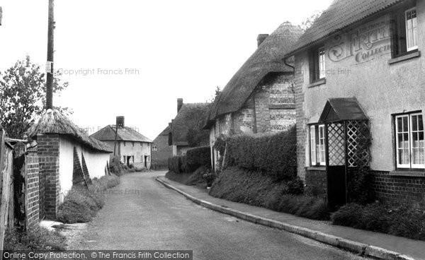 Photo of Fittleton, The Village c.1955
