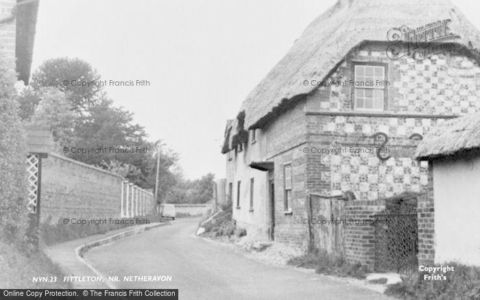 Photo of Fittleton, Village c.1955