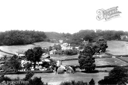 Fittleworth, From Lea Hill 1908