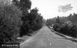 Pulborough Road c.1960, Fittleworth
