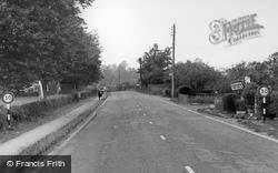 Fittleworth, Pulborough Road c.1960