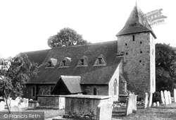 Fittleworth, St Mary's Church 1906