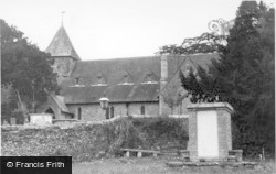 Fittleworth, St Mary's Church c.1955