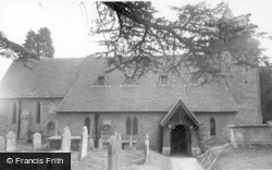 Fittleworth, St Mary's Church c.1960