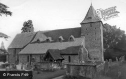 St Mary's Church c.1965, Fittleworth