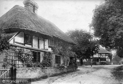 Fittleworth, Thatch Cottage 1906