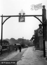 Village Sign c.1960, Fittleworth