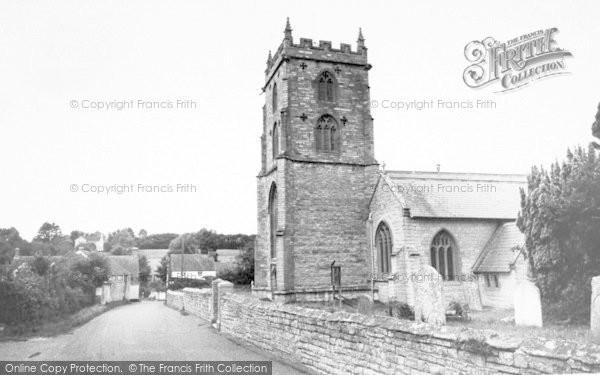 Photo of Fivehead, St Martin's Church c.1955