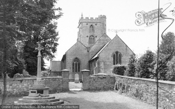 Photo of Fivehead, St Martin's Church c.1960