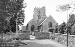 Fivehead, St Martin's Church c.1960