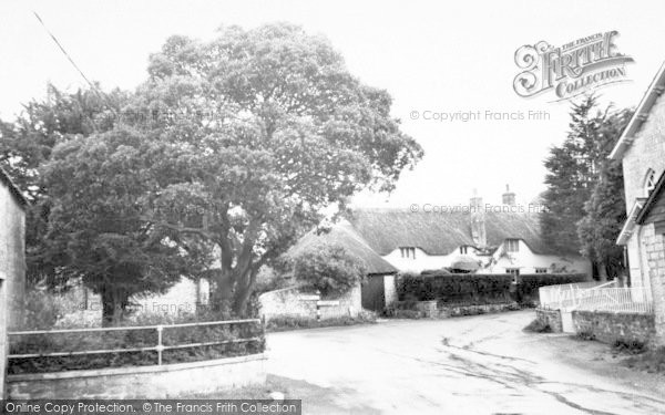 Photo of Fivehead, Thatched Cottage c.1960
