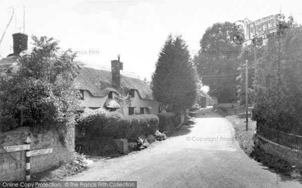 Photo of Fivehead, The Village c.1960