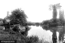 Fladbury, Lock And Ferry 1901