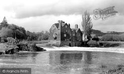 Fladbury, The Weir c.1960