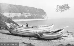 Flamborough, Boats, The South Landing 1967