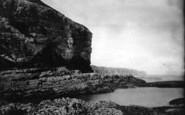 Flamborough, Buckton Cliffs c.1885