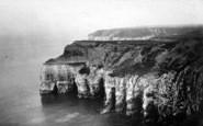 Flamborough, Caves, Little Thornwick Bay c.1932