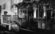 Flamborough, Church Interior, The Rood Screen c.1885