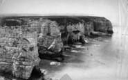 Flamborough, Cliffs, Looking North c.1881