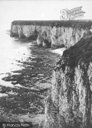 Flamborough, Head And Lighthouse c.1870