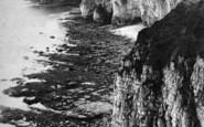 Flamborough, Head, Near King And Queen Rocks c.1870