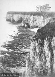 Flamborough, Head, Near King And Queen Rocks c.1875