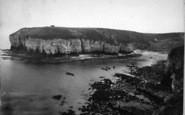 Flamborough, Head, North Landing c.1885