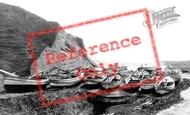 Flamborough, Head, South Landing c.1885