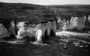 Flamborough, Head, The Caves c.1932