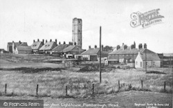 Flamborough, Head, The Old Tower From The Lighthouse c.1938