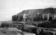 Flamborough, In Thornwick Bay 1888