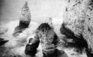 Flamborough, King And Queen Rocks c.1870